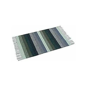Spura Home Indian Multi Color Striped Design Cotton Oriental Area Rug 2X6