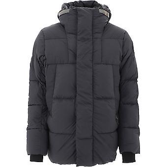 Canada Goose Cg2602mb3561 Men's Black Nylon Down Jacket