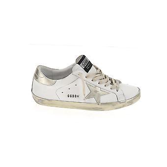 Goldene Gans Gmf00101f00031610272 Herren's Sneakers aus weißem Leder