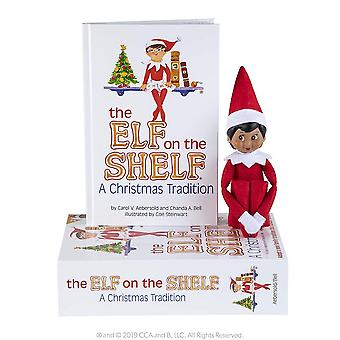 Elf On The Shelf: A Christmas Tradition (brown-eyed Girl). Elf & Book