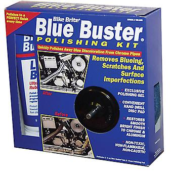 Bike Brite BB-100 Blue Buster Polishing Kit 8 Oz