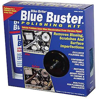 Pyörä Brite BB-100 sininen Buster kiillotus Kit 8 Oz