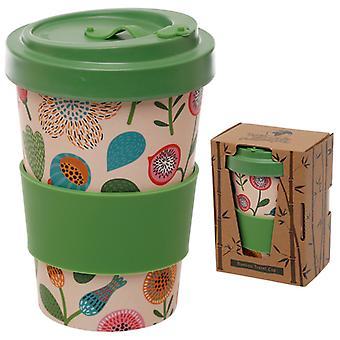 Bambu komposiitti syksyn kukka ruuvi toppi matkamuki X 1 pakkaus
