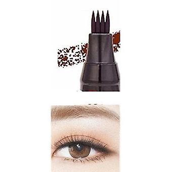 Nestemäinen kulmakarvojen lyijykynä - vedenpitävä meikki muste