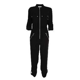 Michael By Michael Kors Mf0804y6bz001 Naiset's Black Polyester Jumpsuit