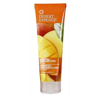 Desert Essence Island Mango Hand & Body Lotion, 8 Oz