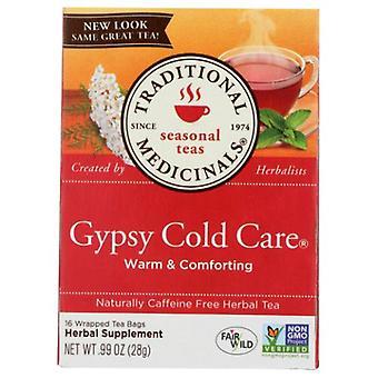Traditional Medicinals Teas Gypsy Cold Care Tea, 16 Bags