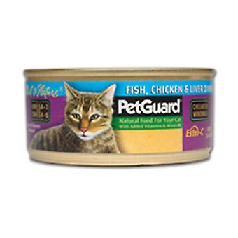 PetGuard Canned Cat Food, Fish & Chicken & Liver 5.5 oz