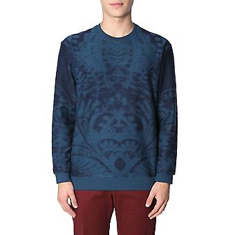 Etro 1y4419613207 Men's Blue Cotton Sweatshirt