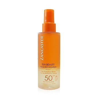 Auringon kauneus alaston iho tunne aurinko suojaava vesi spf50 254943 150ml / 5oz