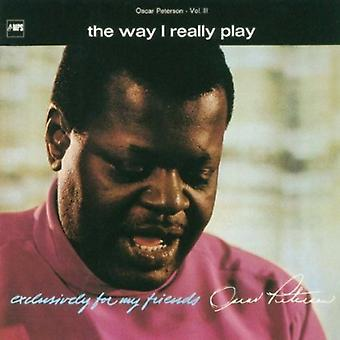 Oscar Peterson - Way I Really Play [CD] USA import