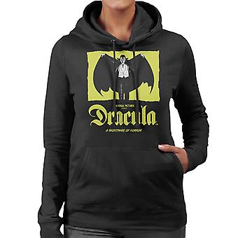 Dracula Nightmare Of Horror Women's Hooded Sweatshirt