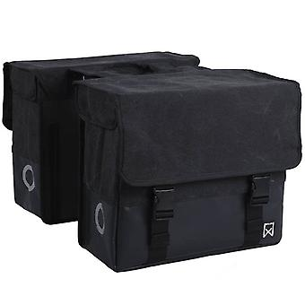 Willex Double Bicycle Bag Fabric 48 L Black 15236