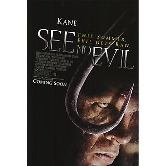 See No Evil Movie Poster (11 x 17)