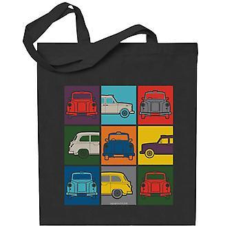 London Taxi Company Colourful Angles Totebag
