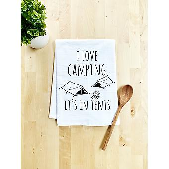 I Love Camping It's In Tents - Tiskipyyhe