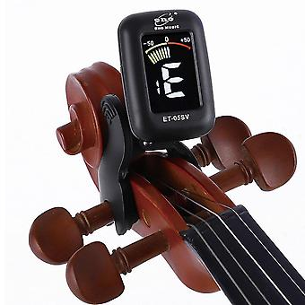 Viooltuner Mini Electronic Screen Display Voor Viola Cello Clip-on, Portable