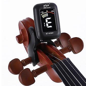 Violin Tuner Mini Écran électronique Pour Viola Cello Clip-on, Portable