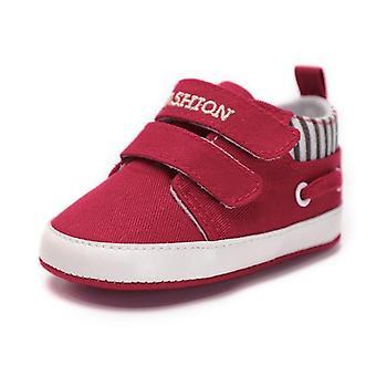Säugling Babys Schuhe-weiche Leinwand solide Schuhe