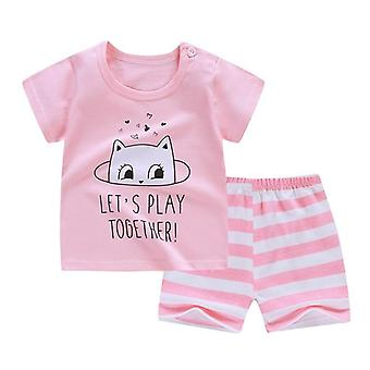 Baba soft rövidnadrág öltöny póló, Sodder Kids Dinosaur Cartoon Infant Clothes