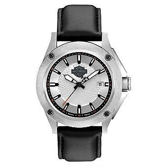 Harley Davidson 78B125 Men's Strap Collection Wristwatch