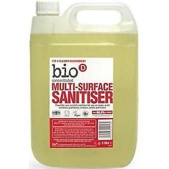 Bio-D Multi Surface Sanitiser 5L x4