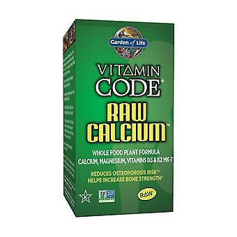 Vitaminkod rå kalcium 60 grönsakskapslar