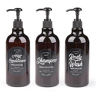 3 Sisään 1 kylpyhuone saippua-annostelija