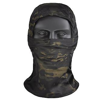 Camouflage Balaclava Full Face Mask, Cycling, Hunting, Army Bike, Military
