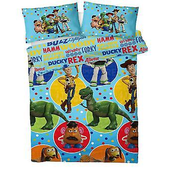Toy Story 4 Reversible Duvet Set