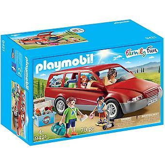 Playmobil Familj Kul Familjebil