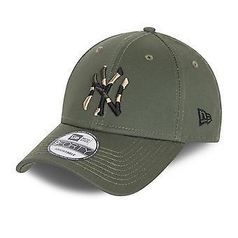 עידן חדש Camo מילוי 9Forty Cap ~ ניו יורק יאנקיז צבא