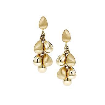14K Yellow Gold Tear Drop Earrings