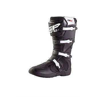 GP PRO MX ENDURO COMP SERIES 2.1 MOLDED SOLE ADULT BOOTS BLACK