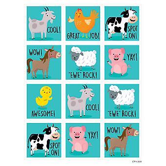 Farm Friends Reward Stickers, Pack Of 60