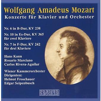 W.a. Mozart - Wolfgang Amadeus Mozart: Konzerte F R Klavier Und Orchester [CD] USA import