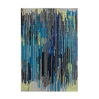 Tapete Fallsgate Mew Multicolorido/Azul