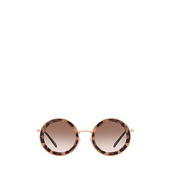 Miu Miu MU 59US pink havana female sunglasses