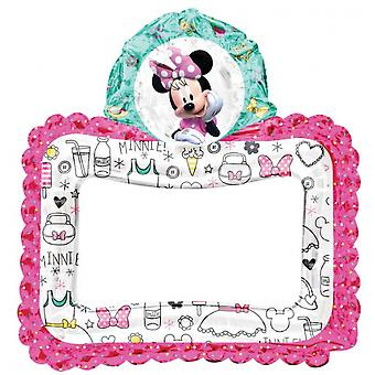 Photo frame Minnie Mouse Girls 68 Cm Foil Pink / White