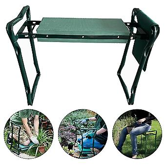 Garden Kneeling Stool With Tool Kit