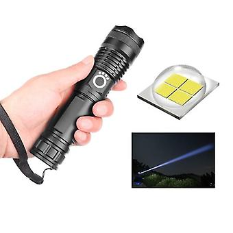 Vip Lumens Lamp Most Powerful Flashlight Zoom Led Torch Battery Best Camping