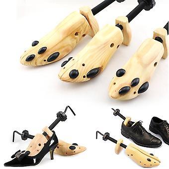 1 Kawałek Drzewo Drewno Buty Nosze, Regulowane Płaskie Pompy Boot Shaper