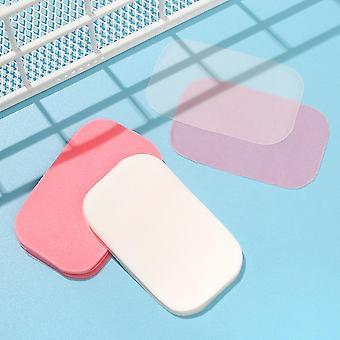 300 Pcs Outdoor Travel Soap Paper Washing Hand Bath Clean Mini Paper Soap