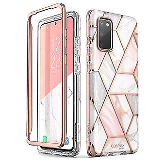i-Blason Cosmo Series Case for Samsung Galaxy S20 5G (2020 Release), Slim Stylish Protective Bumper Case Without Built-in Screen Protector, Marble, 6.2''