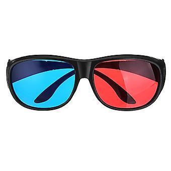 3pcs blauw rood 3d dimensionale 3D-bril voor home cinema bioscoop game projector gebruik
