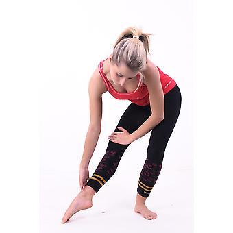 Hatha Asana Yoga Capri Pants - Seamless, Black