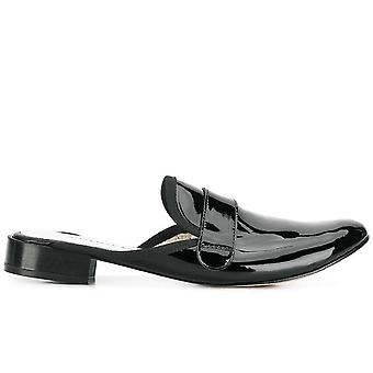 Loly Flat Loafers Mules