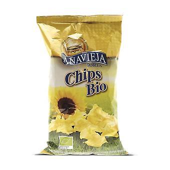 """Plain chips """"family size"""" 220 g"""
