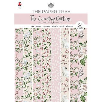 The Paper Tree - The Country Cottage Collection - A4 Backing Papers