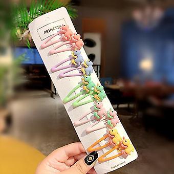 10pcs/set Cute Colorfur Hairpins